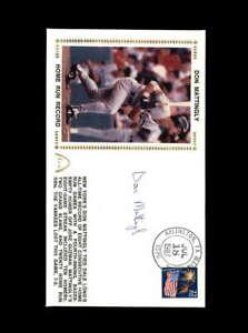 Don-Mattingly-PSA-DNA-Coa-Hand-Signed-1987-FDC-Cache-Autograph