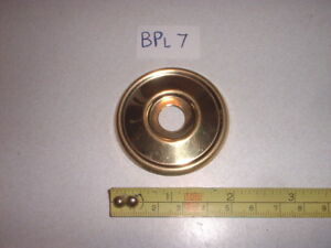 A-BRASS-DOOR-KNOB-BACK-PLATE-ROSE-NO-HOLES-52-mm-DIAMETER-RIM-LOCK-ETC-BPL-7