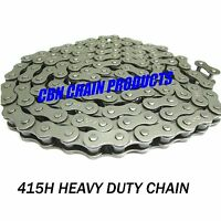 415h Moped Chain, 415h Scooter Chain, 415h Motorized Bike Chain, 136 Links