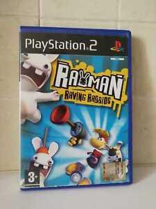 RAYMAN-RAVING-RABBIDS-GIOCO-PER-PlayStation-2-PS2-Italiano-PAL-PER-BAMBINI-GAMES