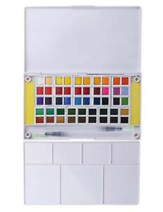 Watercolor-Paint-Set-48-Assorted-Watercolors-Perfect-Watercolor-Pan-Set-NEW