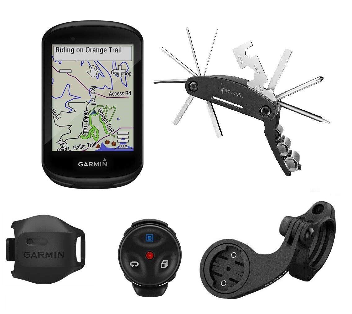 Garmin Edge 830 GPS Cycling Computer W Vélo multi outil (Mountain Bike Bundle)