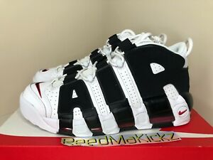Nike Air More Uptempo White Black Scottie Pippen Mens 414962 105
