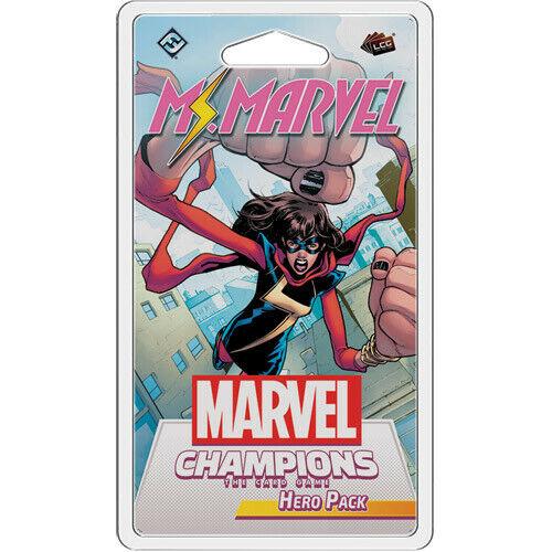 Ms Marvel Champions LCG Asmodee Marvel Hero Pack Sealed In Stock