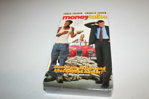 Money-Talks-NEW-SEALED-VHS-1998-Charlie-Sheen-Explosive-Action-Comedy