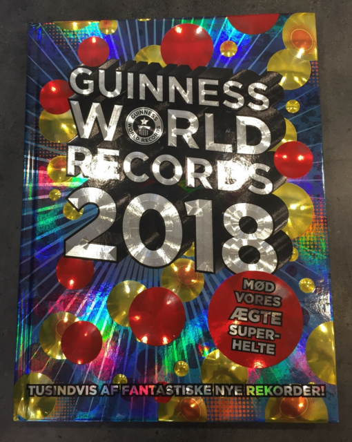 Guiness  World Records 2018, Carlsens - Egmont, genre:…