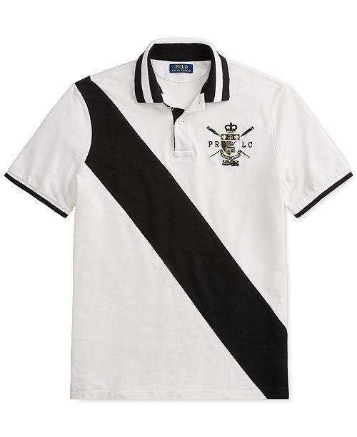 Polo Ralph Lauren Men's Classic Fit Mesh Polo Shirt - White, M