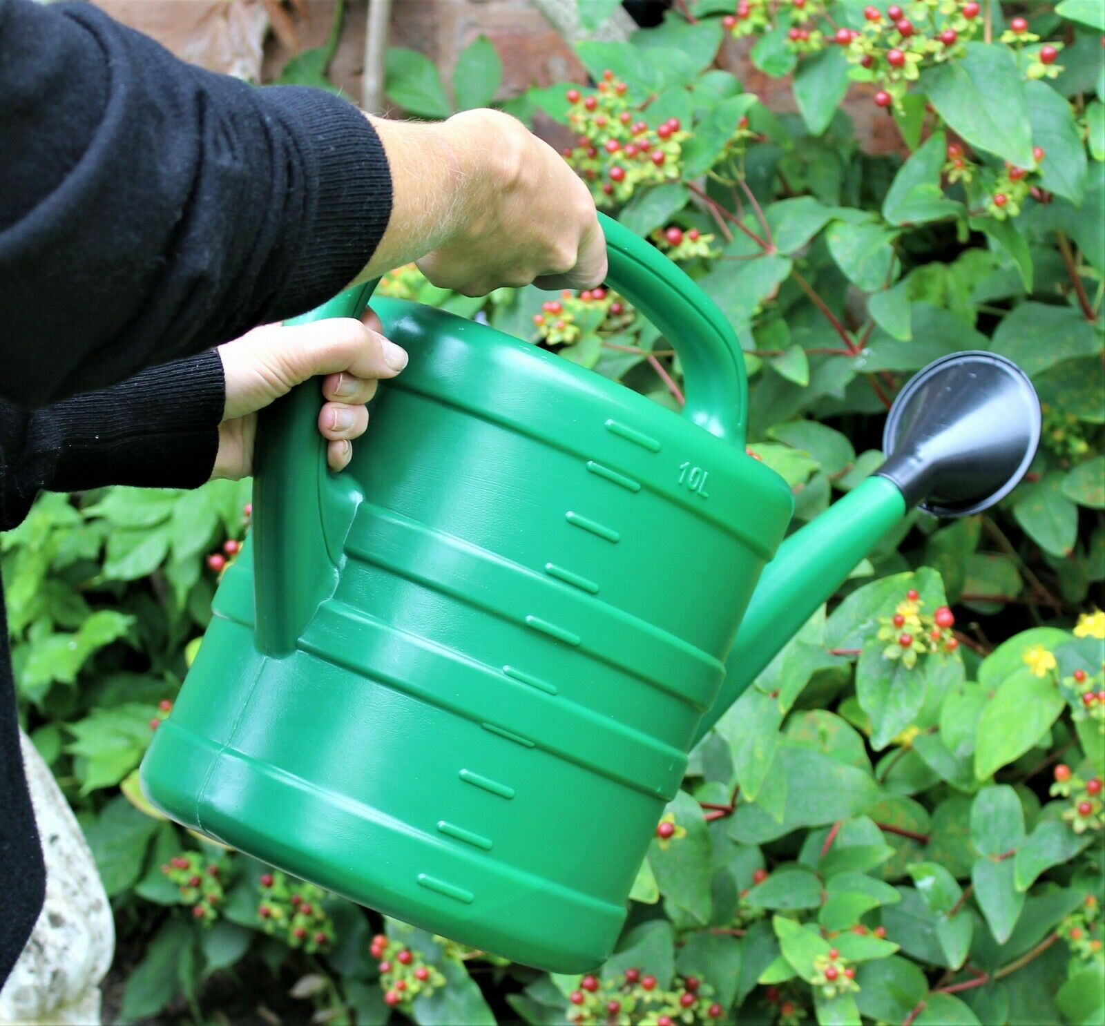 Watering Can With Rose Green 10 Litre 2 Gallons