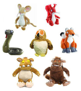 Gruffalo-Character-Branded-Soft-Toys-Fox-Squirrel-Snake-Owl-Stickman