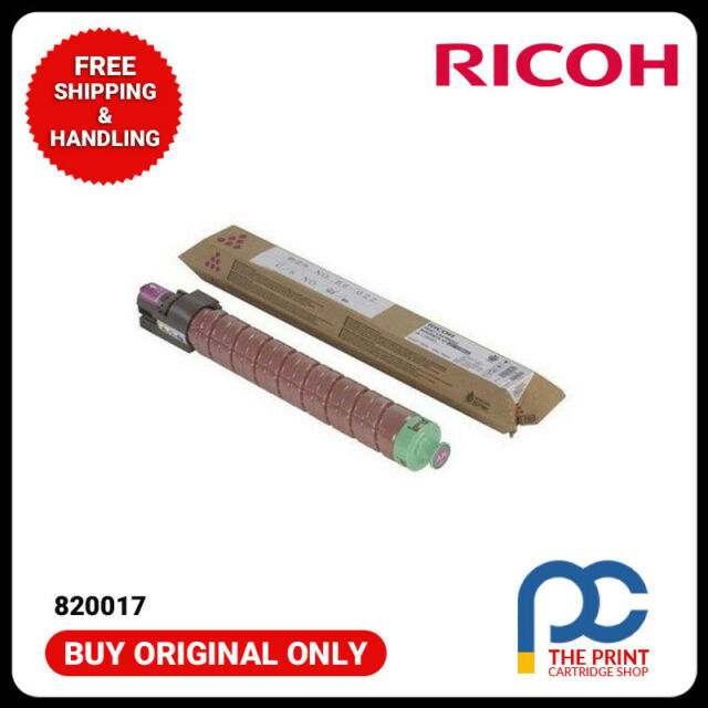New & Original Ricoh 820017 Toner Cartridge HC Magenta, SP C811