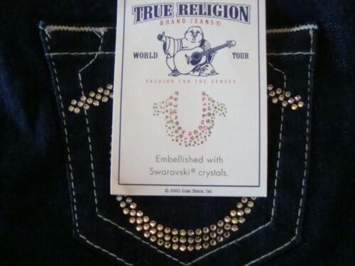 jeans Nwt 889347128864 in 262 aderenti Made In Sz Swarovski True cristallo Religion Mexico 25 con Fqx1wnqrUI