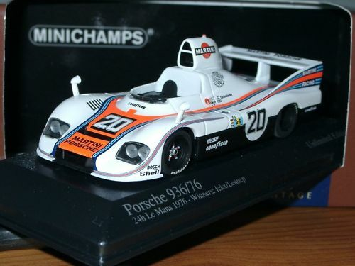 Minichamps porsche 936 76 Martini, winner 76, 400 766620 - 1 43