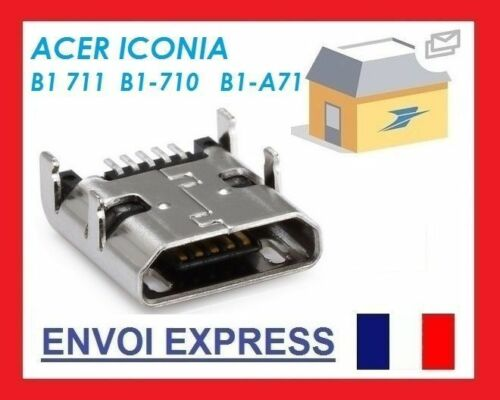 Micro USB charging connector Dock Acer Iconia B1A71 B1711