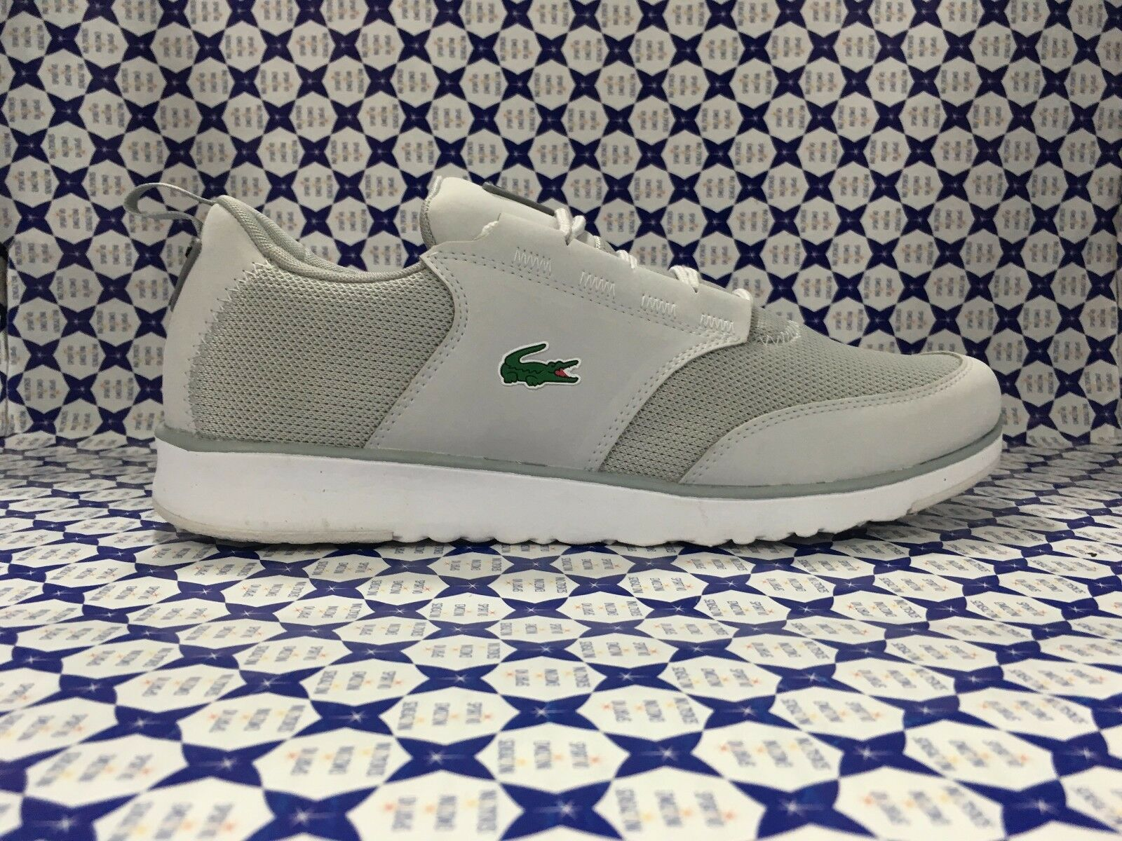 shoes LACOSTE men Sneakers Light 217 1 - grey - SPM1024
