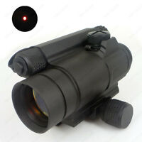 Hunting Rail Mount Riflescopes Precision Red Dot Scope Sight Outdoors Activities