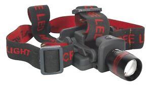 Sealey-HT103LED-3W-CREE-LED-Headband-amp-Hat-Torch