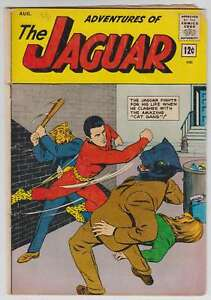 L5842-The-Jaguar-13-Vol-1-VG-F-Estado
