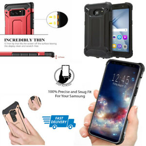 best service 4775e e9bcd Details about Hybrid Armour Case For Samsung Galaxy S7 S7 Edge Bumper Hard  Cover Shockproof UK
