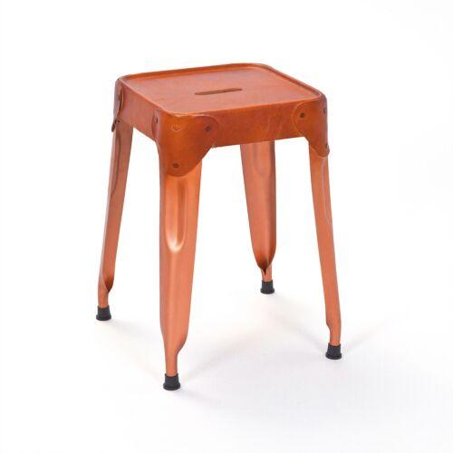 4x Metal Dining Chair Relas Stool Copper Braun Chair Sitting Stool Dining Room