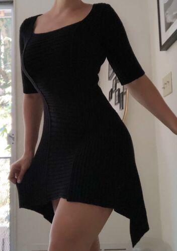 plein sud jeanius black dress fall wool sweater co
