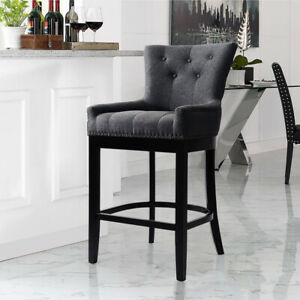 On Back Bar Stool Barstool Chair