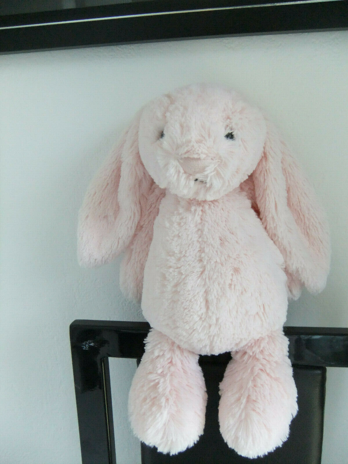 11  PINK JELLYCAT JELLY3252 CAT BASHFUL BUNNY RABBIT SOFT CUDDLY TOY NEXT EASTER