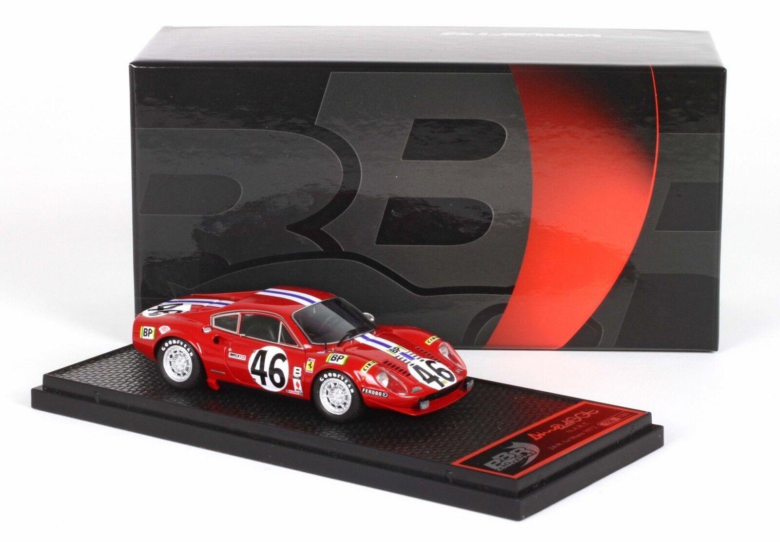 Ferrari 246GT Nart 24h le mans 1972 n°46 1 43 BBRC75 BBR Models