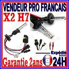 2 AMPOULES XENON H7 10000k 35W 55W POUR KIT HID 12V LAMPE FEU PHARE DE RECHANGE