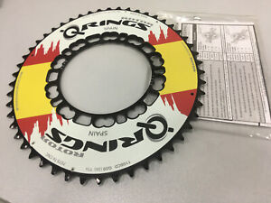 Black Rotor QXL Rings Aero BCD110x5 52T Road Outer Chainring