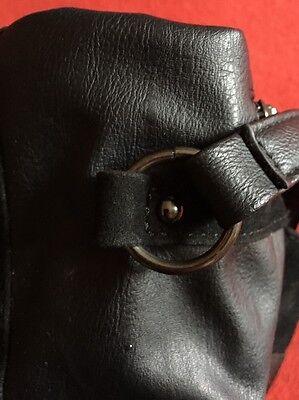 Handtasche Damenhandtasche Frauentasche CAMAYEU schwarze Tasche