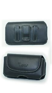 Leather-Case-Pouch-Holster-w-Belt-Clip-Loop-for-for-Samsung-Galaxy-S3-Mini-i8200