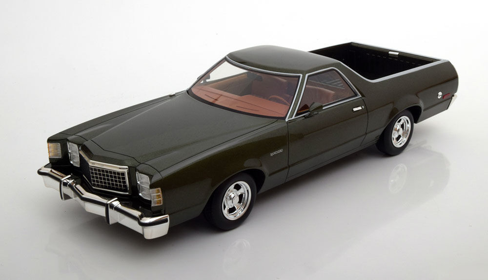 1979 Ford Ranchero Dark Green Metallic by BoS Models LE of 1000 1 18 Scale