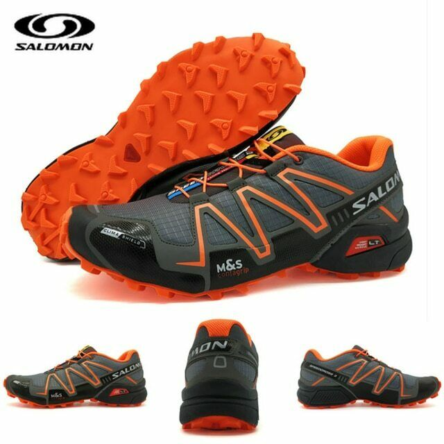 d639fb63e9 NEW Speed Cross 3 CS III Anti-slip Men Sports shoes Light Weight Male  Running