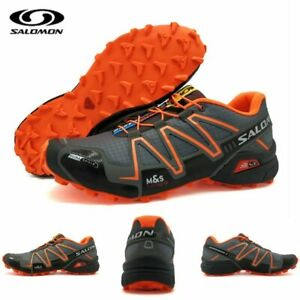 Nouveaux produits 62f78 6fcf7 Details about NEW Speed Cross 3 CS III Anti-slip Men Sports Shoes Light  Weight Male Running