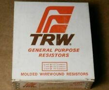 5 pcs TRW//IRC BWH Type Molded Wirewound Resistor 2W 10/% 1.2 OHM OHMS