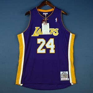 100% Authentic Kobe Bryant Mitchell   Ness 06 07 Lakers Jersey Size ... 3381807e5