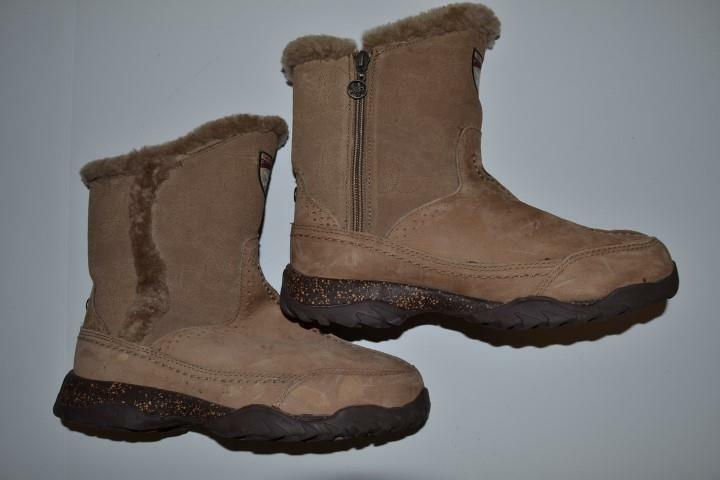THE NORTH FACE NEVER STOP EXPLORING EXPLORING EXPLORING PRIMA LOFT BROWN BOOTS WOMENS SIZE 7 2921b2