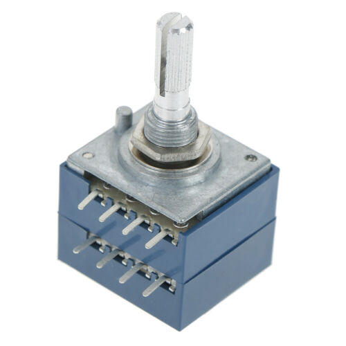 1Pcs potentiometer 50K log alps audio amp volume control pot stereo w loudnessDP
