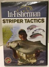 In-Fisherman Striper Tactics DVD Video Bass Sport Fishing Baits Lures Fish New