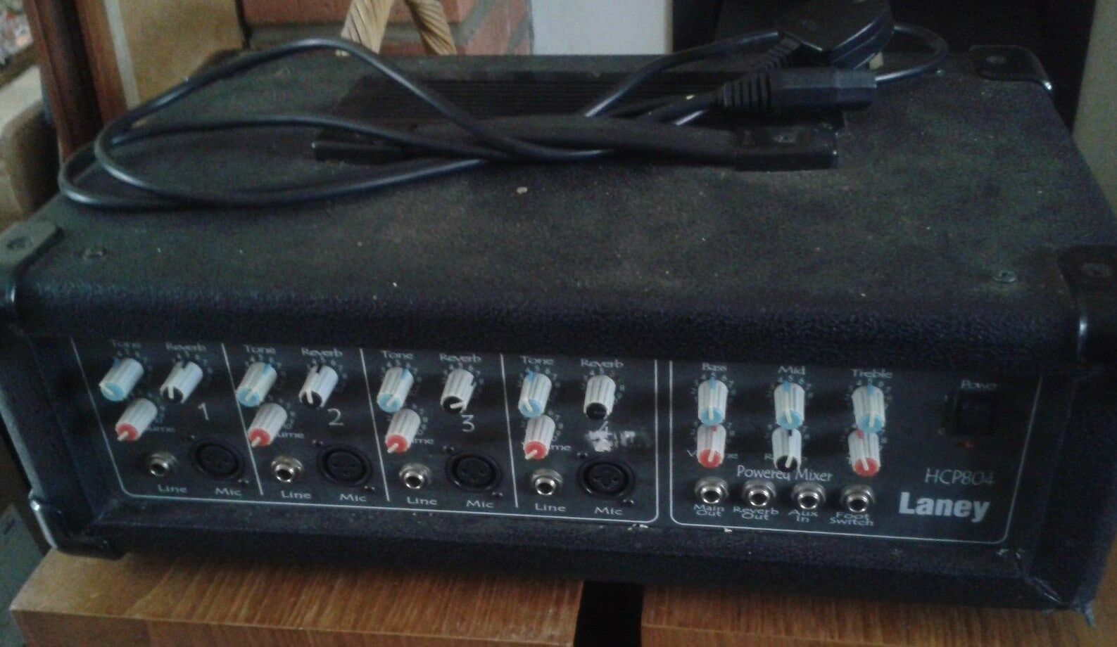 Laney HCP804 4-Channel PA Amp Head Package 80W 4 Ohm