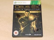 Deus EX REVOLUCIÓN HUMANA Edición Limitada aumentada Xbox 360 Reino Unido PAL