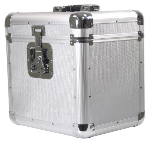 Soundlab Silver Professional Euro Style DJ CD Case Holder Fits 150
