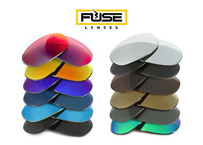 Fuse Lenses Non-Polarized Replacement Lenses for Bolle Mercuria
