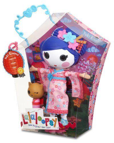 Lalaloopsy Yuki Kimono & Haustier Katze Puppe Große 33cm - Brandneu in Karton