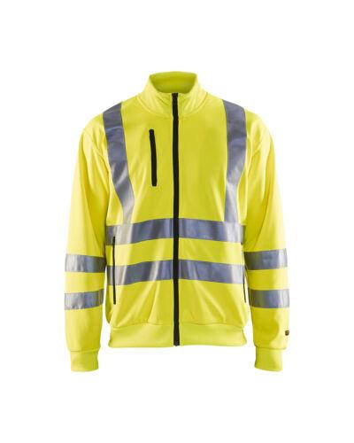 BLAKLADER HI VIS FULL ZIP Travail Sweatshirt Classe 3-3358