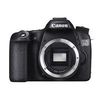 Canon EOS 70D 20MP Digital SLR Camera Body (Black) - Manufacturer Refurbished