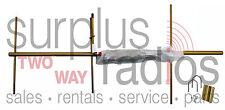 NEW YAGI BASE ANTENNA VHF 150-174MHZ 7.1dBd 3 ELEMENTS MOTOROLA ICOM KENWOOD