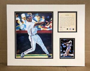 Cleveland Indians Albert Belle 1995 Baseball 11x14 MATTED Kelly Russell Print