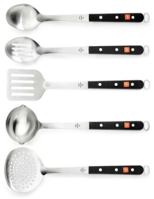 New In Box Wusthof 5 Piece Stainless Steel Kitchen Tool Set $100 in stores