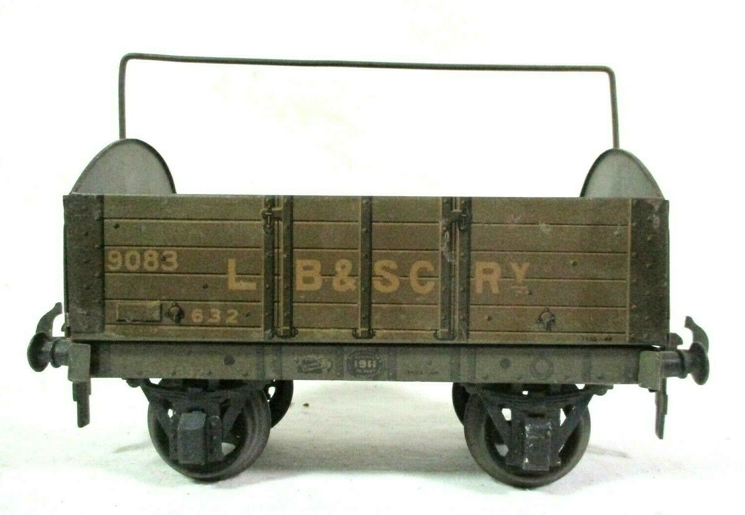 Carette for Bassett Lowke 9083 LB & SCRY Railway 632 1911 Tarpaulin Wagon B63-6